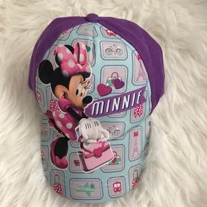 Disney Minnie Mouse Girls Hat one size fits most
